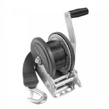 FULTON 1500lb Single Speed Winch w/20 ft Strap Cover
