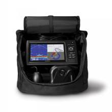 GARMIN EchoMAP CHIRP 73cv Panoptix Ice Bundle