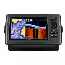GARMIN echoMAP 73SV w/US LakeVu and Transom Mount Transducer CV40-TM
