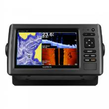 GARMIN echoMAP 73SV w/US LakeVu HD Transom Mount Transducer GT40-TM