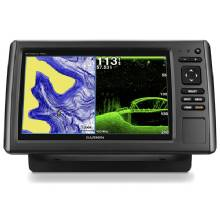 GARMIN EchoMAP 93sv with Transducer and US LakeVu HD maps