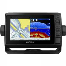 GARMIN echoMAP Plus 75CV Canada Lakes, DownVu