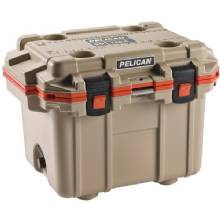 PELICAN Im 30Qt Elite Cooler Tan/O