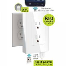 P3 INTERNATIONAL thingCHARGER 2X, USB Wall Charger