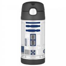 THERMOS FUNtainer Stainless Steel, Insulated Straw Bottle - Star Wars - 12 oz.