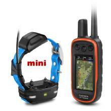 GARMIN Alpha 100 and Blue TT 15 mini Dog Tracking and Training Bundle TT15