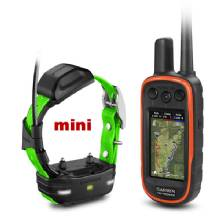GARMIN Alpha 100 and Light Green TT 15 mini Dog Tracking and Training Bundle TT15