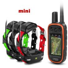 GARMIN Alpha 100 and 3 x TT 15 mini Dog Tracking and Training Collars TT15