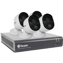 SWANN 4-Channel 1080p DVR with 1TB HD, 4 Cameras
