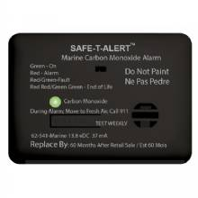 SAFE-T-ALERT 62 Series Carbon Monoxide Alarm w/Relay - 12V - 62-541-R-Marine - Surface Mount - Black