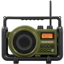 SANGEAN TOUGHBOX FM/AM/Aux Ultra-Rugged Digital Rechargeable Radio
