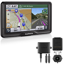 GARMIN RV 760LMT with BC 20 Wireless Backup Camera