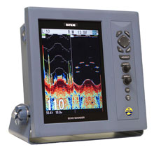 SI-TEX On sale CVS-1410 Dual Freq Color 10.4inch LCD Fishfinder 1Kw No Ducer