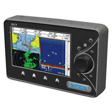 SI-TEX On sale EC7E Chartplotter w/External Antenna and C-MAP MAX NA-M022 SD Card