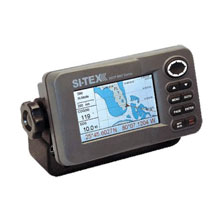 SI-TEX GPS, 4.3inch, w/ C-Map Plotter, Int. Ant.