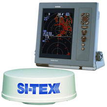 SI%2DTEX T%2D2041 Professional Dual Range Radar w and 4kW 25 Dome %2D 104inch Color TFT LCD Display