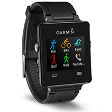 GARMIN Vivoactive Black Bundle with HRM
