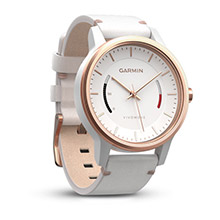 GARMIN Vivomove Classic Rose Gold%2Dtone Leather