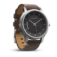 GARMIN Vivomove Premium Stainless Steel Leather