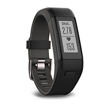 GARMIN Vivosmart HR Plus %2D Black Gray XL