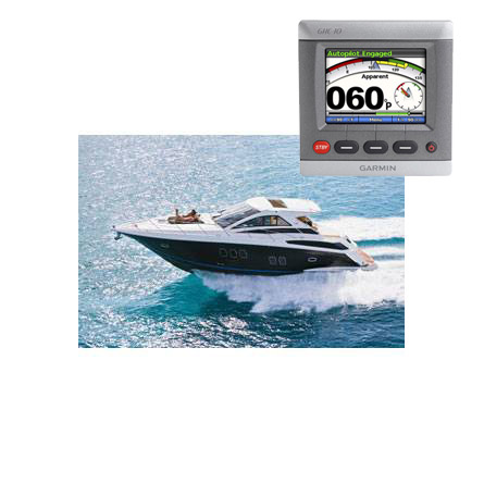 Volvo powered boat with Garmin GPS