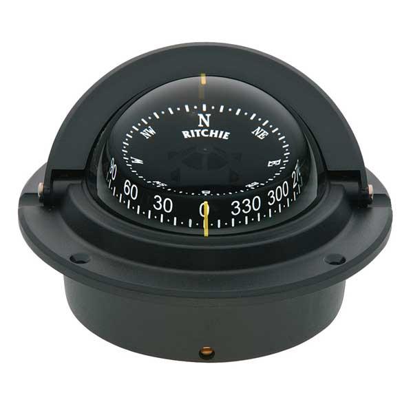 Black GM Bracket Mount B-81 Ritchie B-81 Voyager Compass
