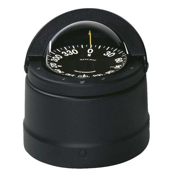 Ritchie F-82 Voyager Compass Flush Mount Black