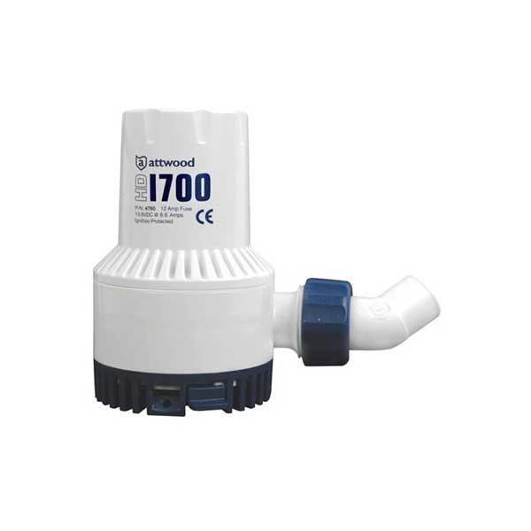 Attwood Sahara S750 Automatic Bilge Pump 12V 750 Gph 4507-7