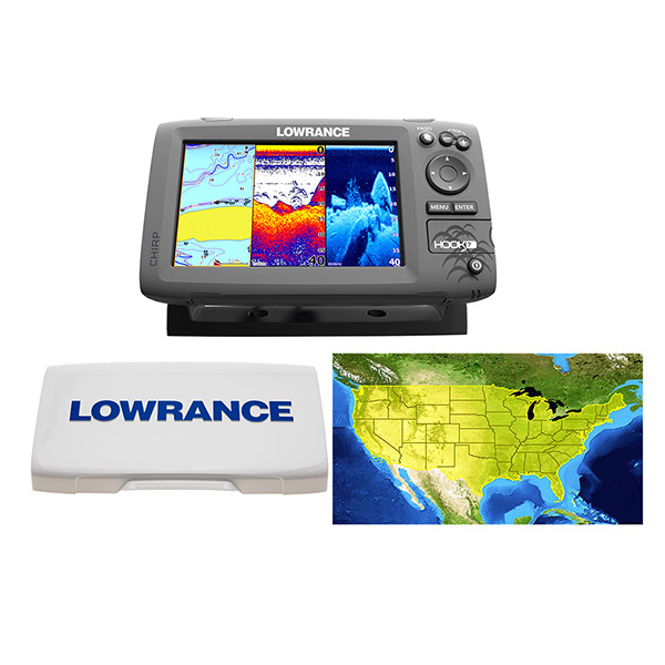 HOOK-5 Combo w/83/20 by LOWRANCE