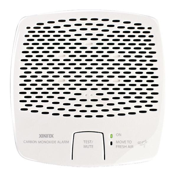 Black Xintex Carbon Monoxide Alarm 12//24VDC Power