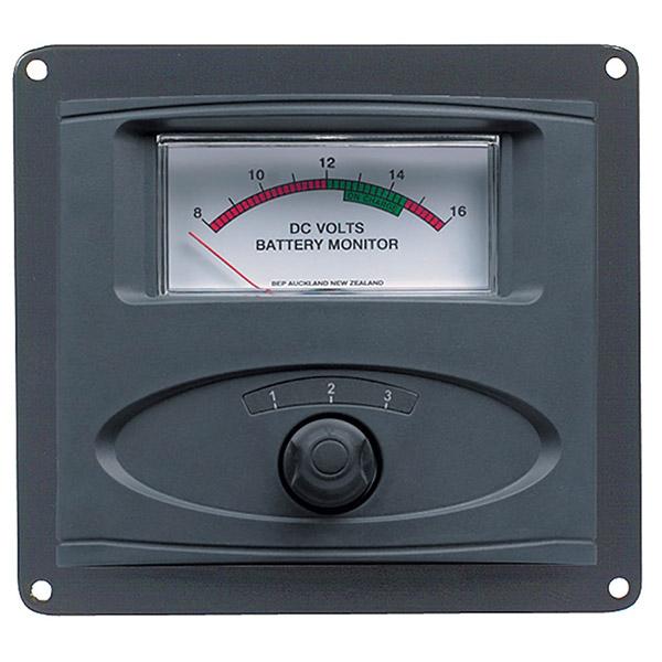 Battery Monitor Panel : Input panel mounte by bep marine