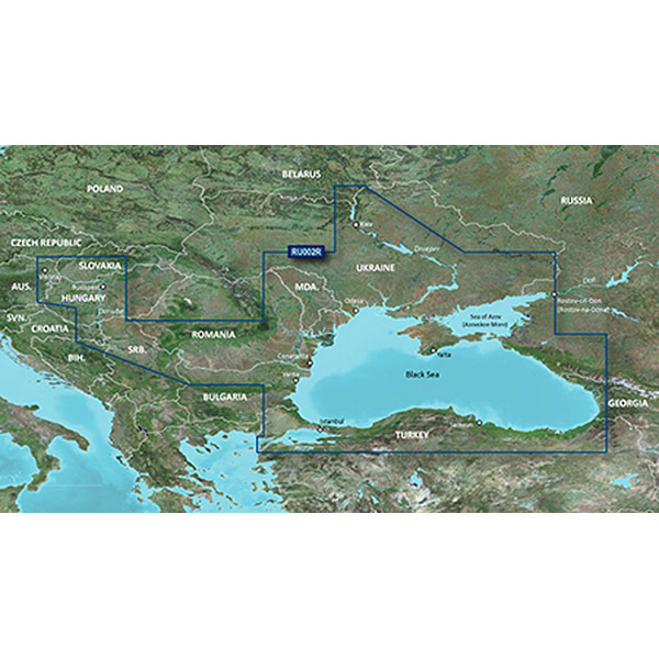 Russia - Black Sea a by GARMIN