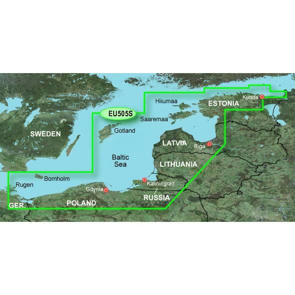 Europe - Baltic Sea, by GARMIN