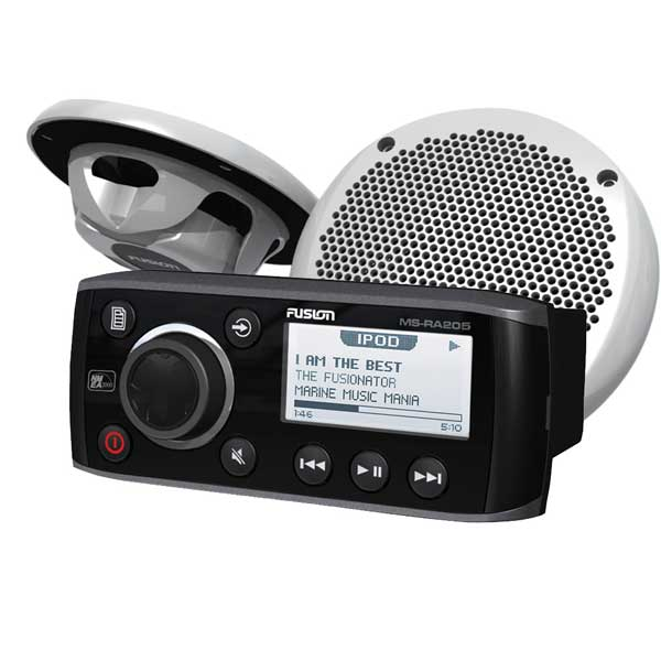 Fusion Marine MSRA70 Marine Receiver AM//FM Receiver with Bluetooth 4 x 50W