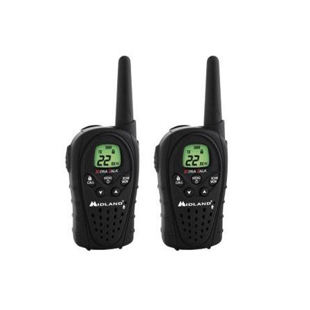 Midland LXT340VP3 20-Mile 2-Way Radio Pair