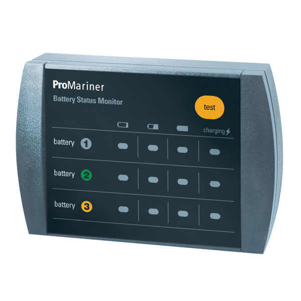 1 Alternator 2 Battery ProMariner Battery Isolator 130 Amp