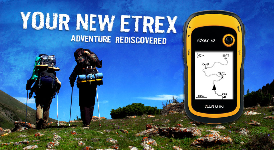 garmin etrex 10 base GPS of the new family
