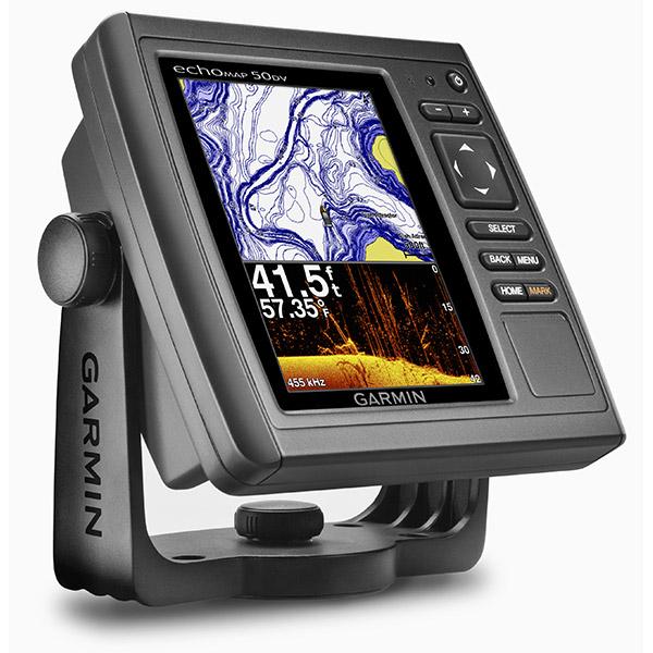 Garmin Echomap 50dv With Us Bluechart G2 Maps Without Transducer