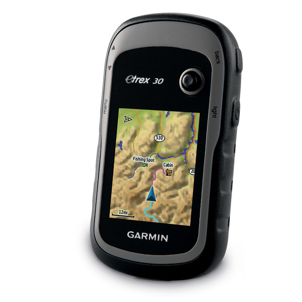 Garmin top of the line eTrex 30 GPS navigator for outdoors usage