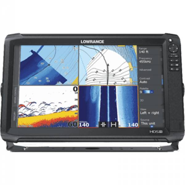 HDS-16 Carbon C-Map by LOWRANCE
