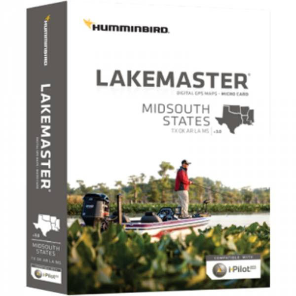 Lakemaster Maps, Mid by HUMMINBIRD on maps for hp, maps for magellan, maps for tomtom, maps for garmin,